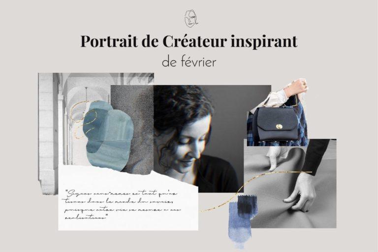 Cuir Portrait Johanne - Printemps 88